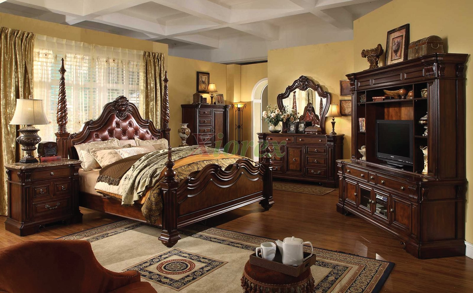 68 jaw dropping luxury master bedroom designs home - Traditional white bedroom furniture ...