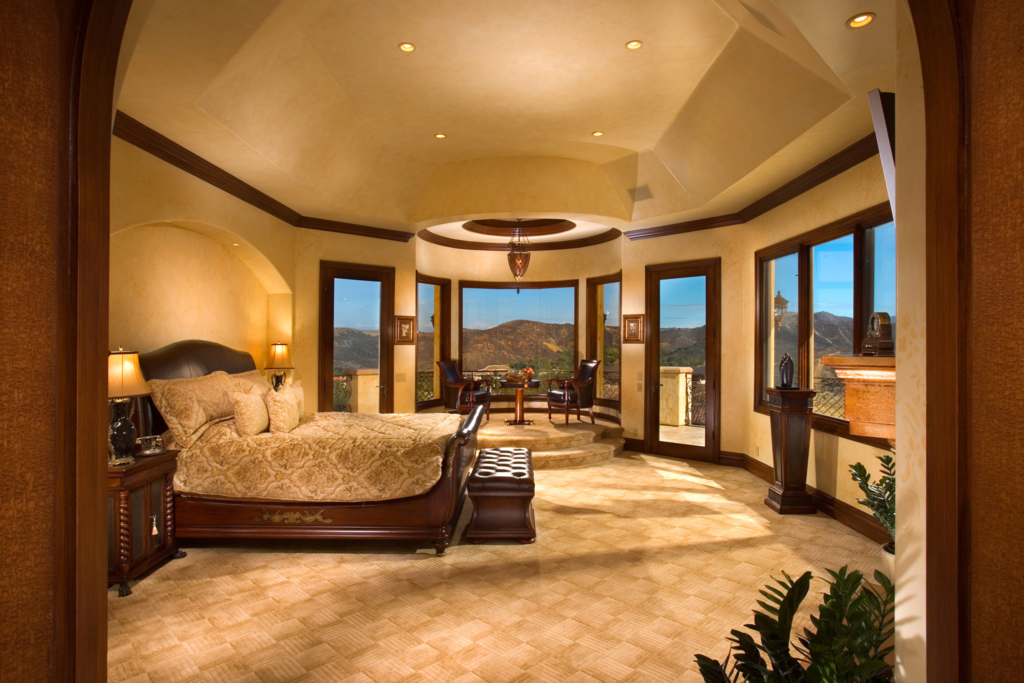 luxury master bedroom designs from hgsphere - Master Bedrooms