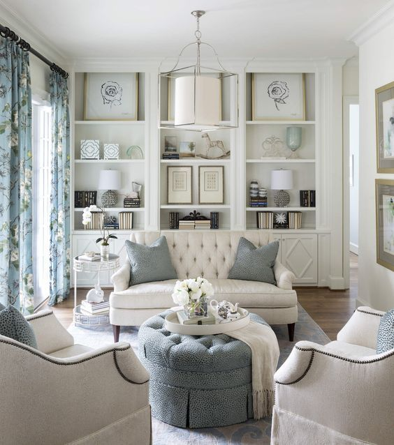 Beautiful Living Room Styles: 30 Gorgeous White Living Room Ideas