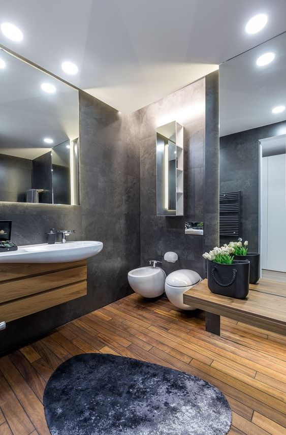 Check out these fantastic bathroom decor ideas for your home. Click on image to see many more interior designs.
